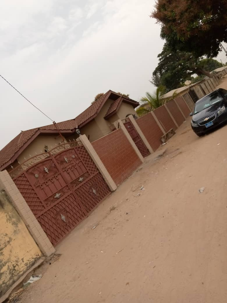 This is 4 bedrooms with boys quarter for sale D3,700,000 at SUKUTA