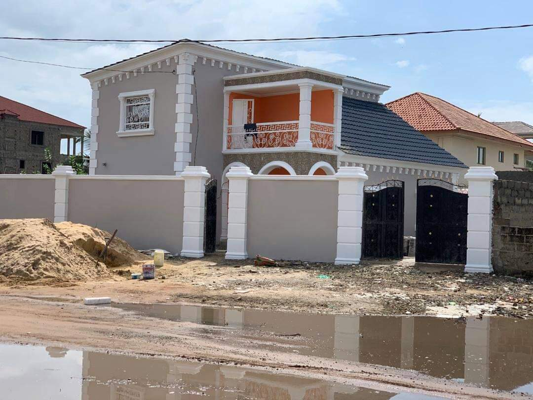 NEWLY BUILT 3 BEDROOMS HOUSE FOR SALE AT BRUFUT