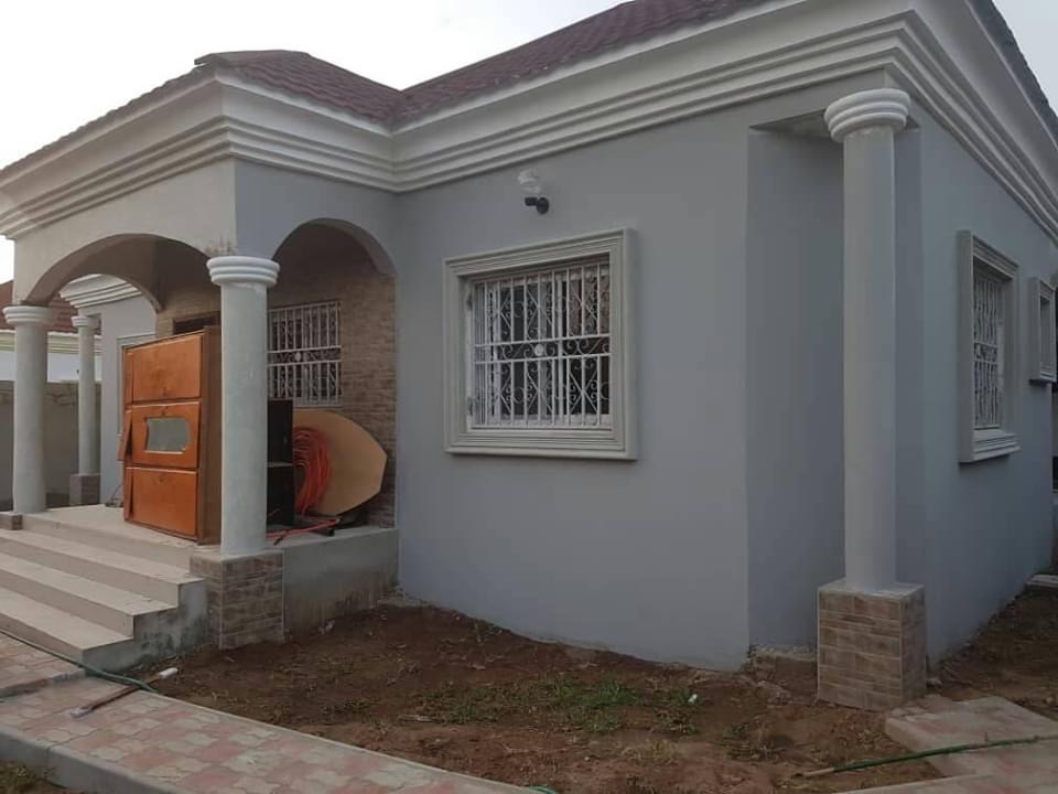 Newly built three bedrooms house for sale at bijilo close to the sea for D6million with negotiation