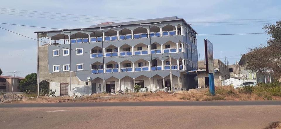 Commercials Complex along the Bertil Herding Highway Opposite the Independent Stadium, near SSHC, off the Kairaba Avenue and it comprises of Office Spaces Conference Halls, Restaurants and Shops