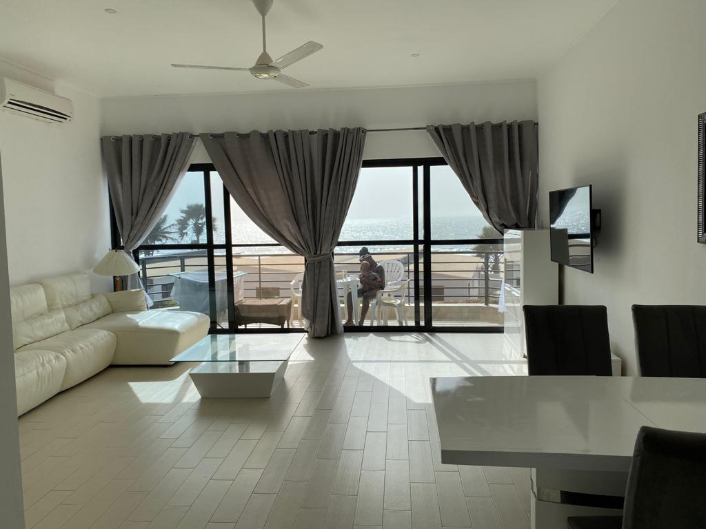 two bedroom apartment seafront for rent at bijilo seaview