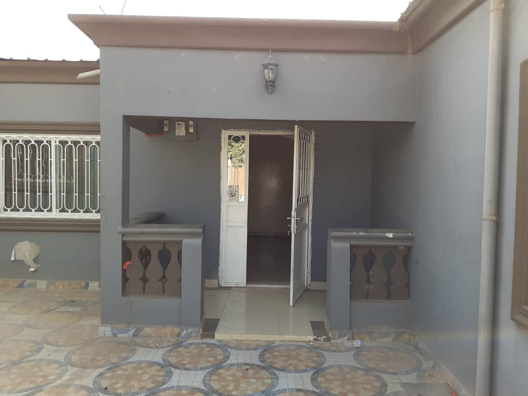 TWO BEDROOMS HOUSE WITH TWO TOILETS FOR RENT AT BRUSUBI PHASE 1