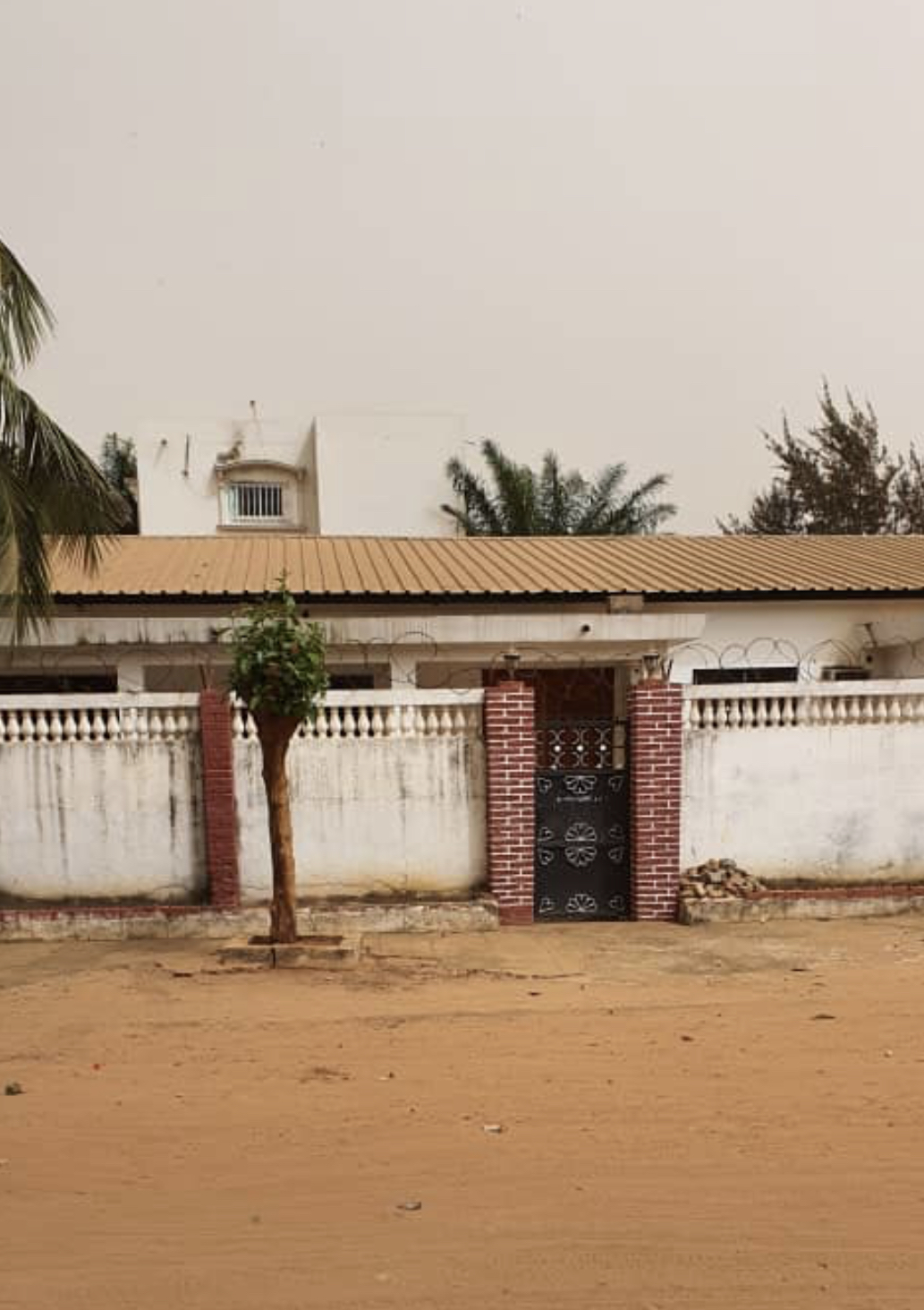 Four bedrooms house for sale at fajara few compounds from the highway