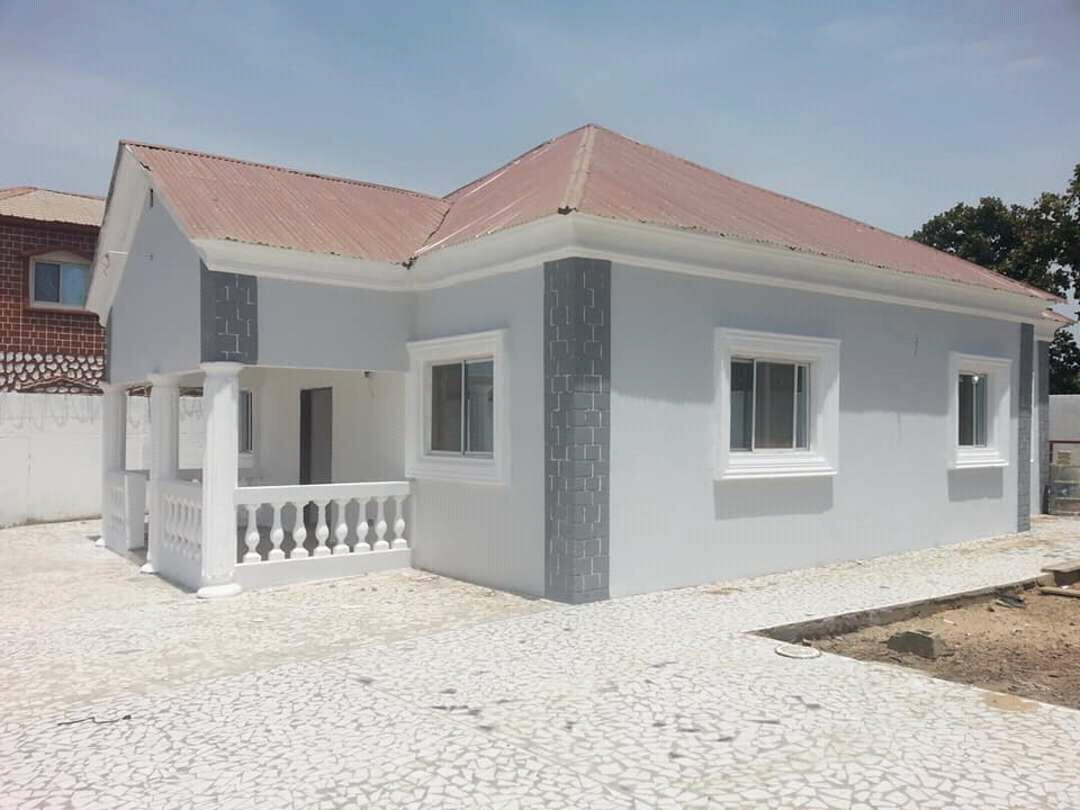 Newly built threes bedrooms house modern style Sukuta for sale