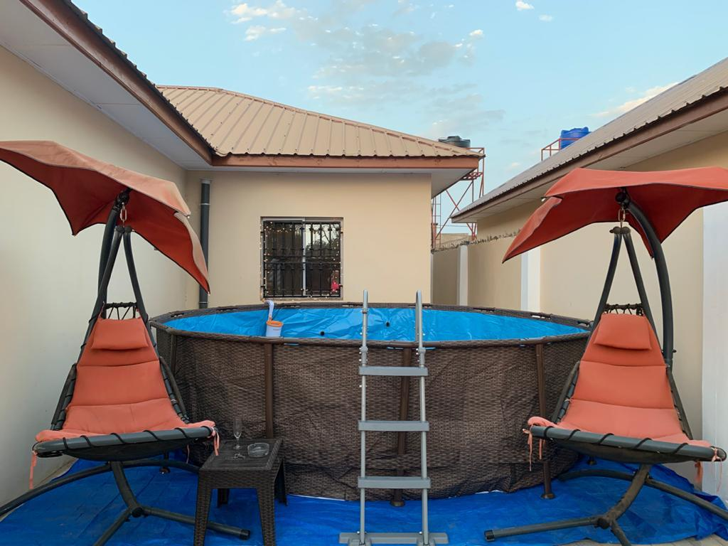 three bedrooms house with artificial swimming pool for sale at kololi near senegambia
