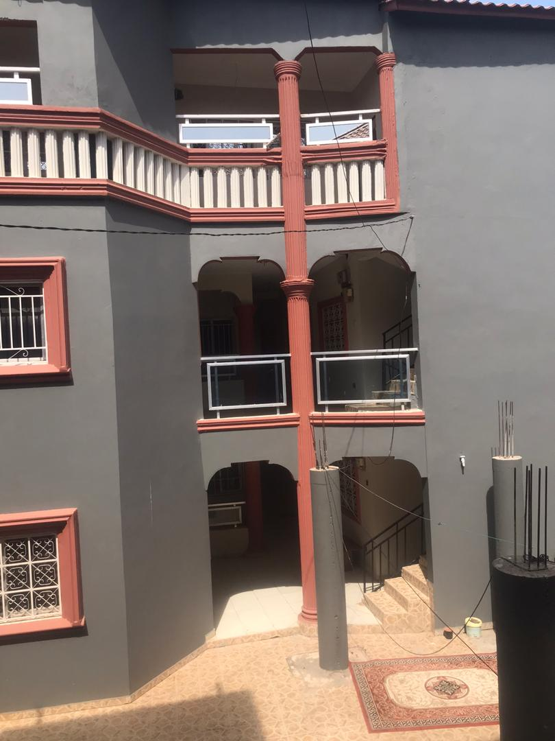 two bedrooms house for rent at senegambia for D25,000 per month